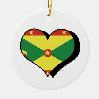 I Love Grenada Ornament