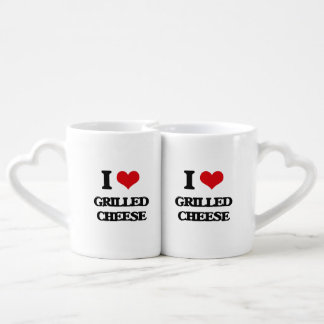 I Love Grilled Cheese Lovers Mug Sets