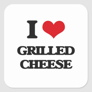I Love Grilled Cheese Stickers