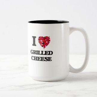 I love Grilled Cheese Two-Tone Mug