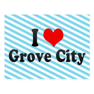 I Love Grove City, United States Postcard