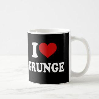 I Love Grunge Coffee Mug