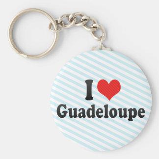 I Love Guadeloupe Keychain