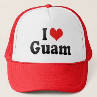 I Love Guam Trucker Hat