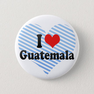 I Love Guatemala 2 Inch Round Button