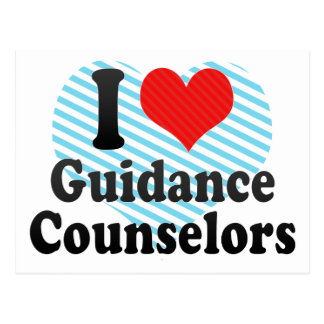 I Love Guidance Counselors Postcard