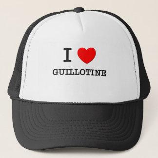 I Love Guillotine Trucker Hat