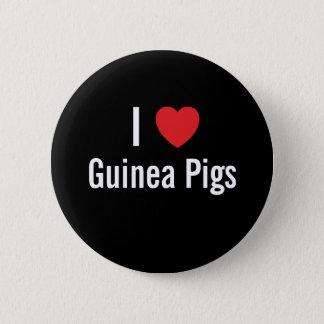 I love Guinea Pigs 2 Inch Round Button