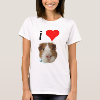 I Love Guinea Pigs by So SqueaKy T-Shirt