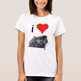 I Love Guines Pigs by So SqueaKy T-Shirt