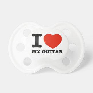 I love guitars pacifier