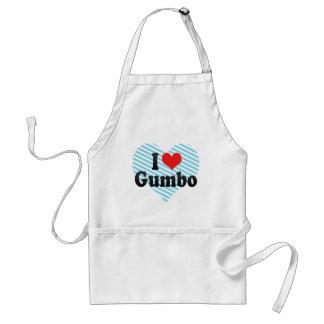 I Love Gumbo Standard Apron