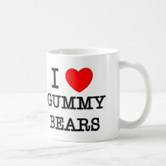 I Love Gummy Bears Coffee Mug