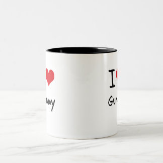 I Love Gummy Two-Tone Coffee Mug