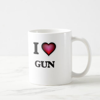 I love Gun Coffee Mug
