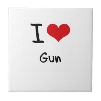 I Love Gun Tiles