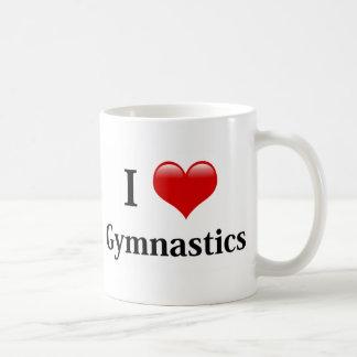 I Love Gymnastics Classic White Coffee Mug