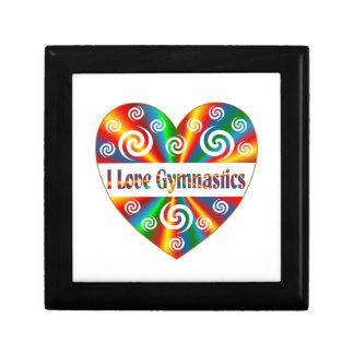 I Love Gymnastics Gift Box