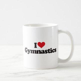 I Love Gymnastics Coffee Mug