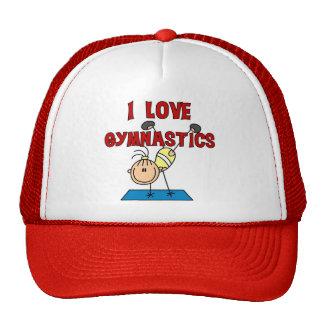 I Love Gymnastics Tshirts and Gifts Trucker Hat