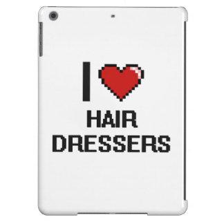I love Hair Dressers iPad Air Cases