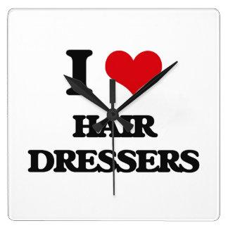 I love Hair Dressers Wallclock