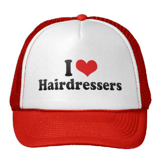 I Love Hairdressers Mesh Hat
