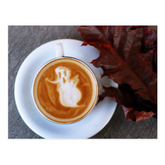 I love Halloween a Latte Postcard