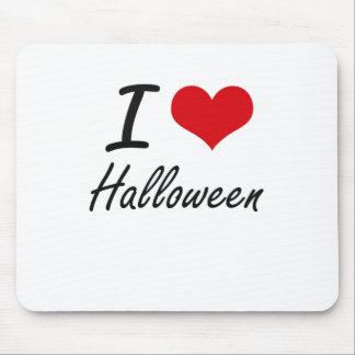 I love Halloween Mouse Pad