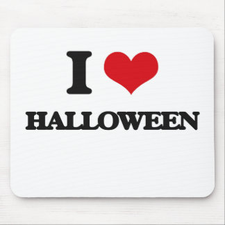 I love Halloween Mouse Pad