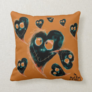 I love Halloween! Throw Pillow