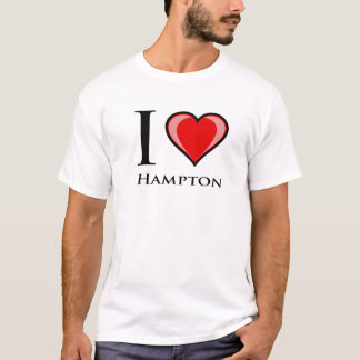 I Love Hampton T-Shirt
