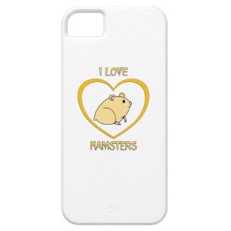 I Love Hamsters iPhone 5 Covers