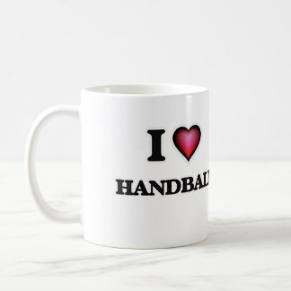 I Love Handball Coffee Mug