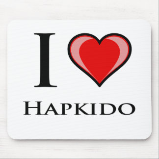I Love Hapkido Mouse Pad