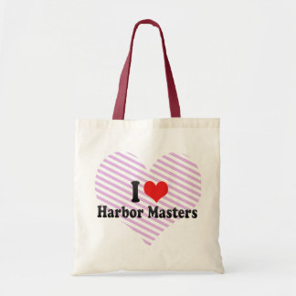 I Love Harbor Masters Bags