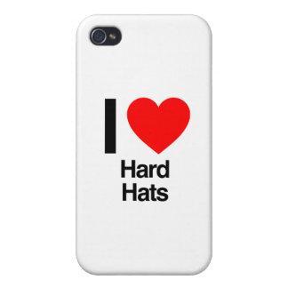 i love hard hats iPhone 4 cover