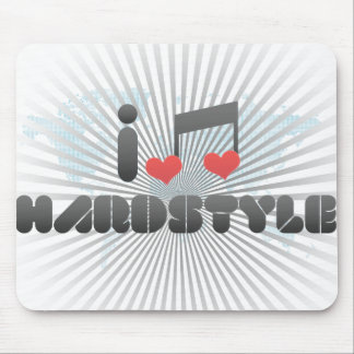 I Love Hardstyle Mouse Pad