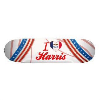 I Love Harris, Iowa Skate Boards