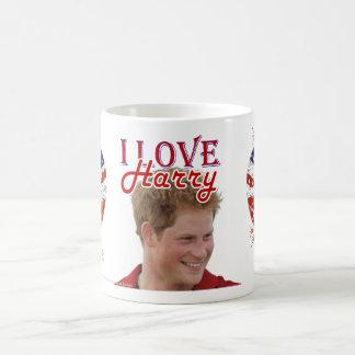 I Love Harry hearts UK flag Coffee Mug