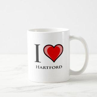 I Love Hartford Coffee Mug