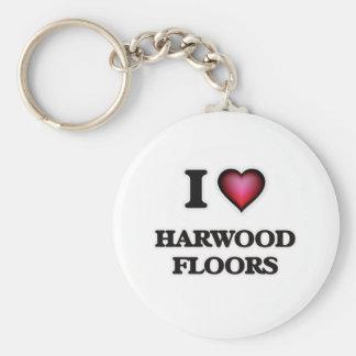 I love Harwood Floors Keychain