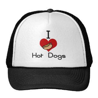 I love-hate hot dog hats