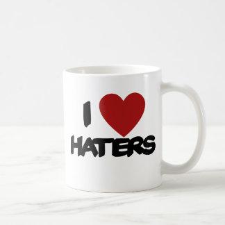I Love Haters Classic White Coffee Mug
