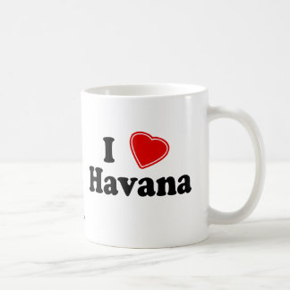 I Love Havana Coffee Mug
