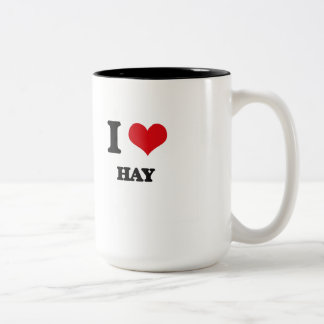 I love Hay Two-Tone Coffee Mug
