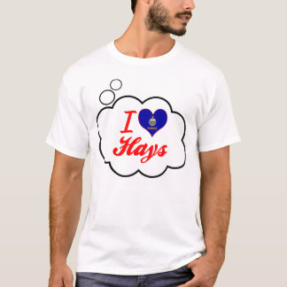 I Love Hays, Kansas T-Shirt