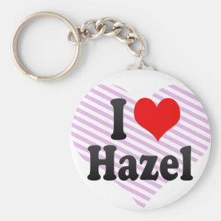 I love Hazel Keychain