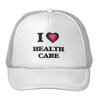 I Love Health Care Trucker Hat