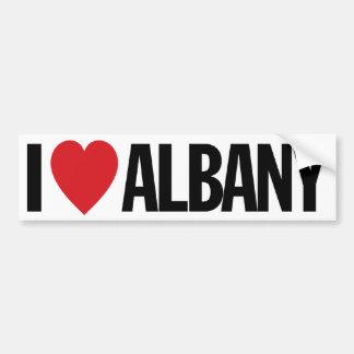 "I Love Heart Albany 11"" 28cm Vinyl Decal"